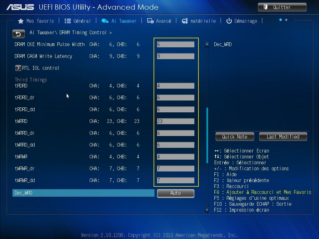 [DOSSIER] Screens BIOS Asus Z87-PLUS C2 08a