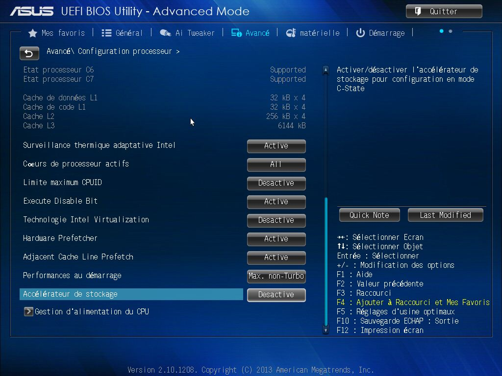 [DOSSIER] Screens BIOS Asus Z87-PLUS C2 13
