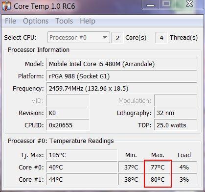 Portable ou PC de bureau ? Coretemp-i5-portable
