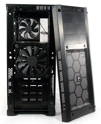 [DOSSIER] Overclocking d'un Intel core i5 4670K - 2° partie Facade-corsair-carbide300r
