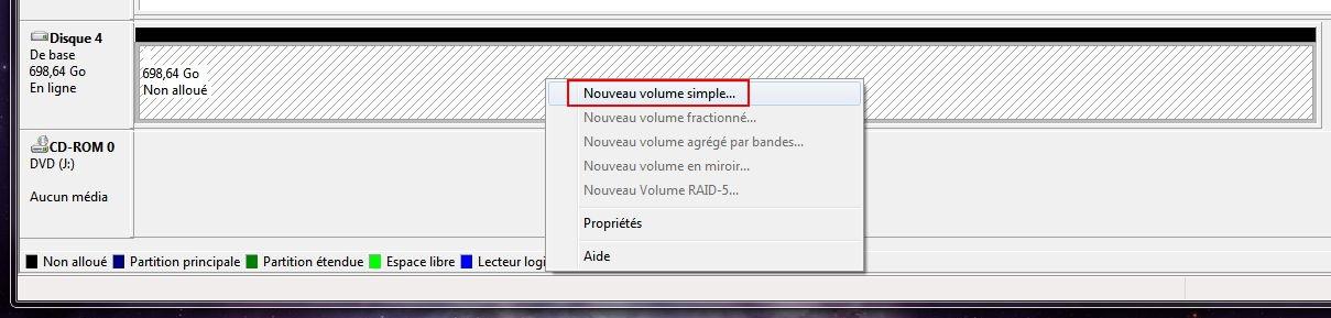 Installation de Windows [1- Préparation du disque] Gestion-hdd2