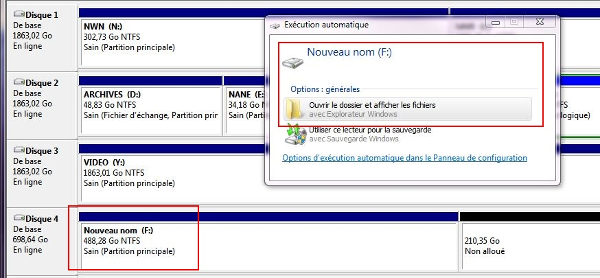 Installation de Windows [1- Préparation du disque] Gestion-hdd8