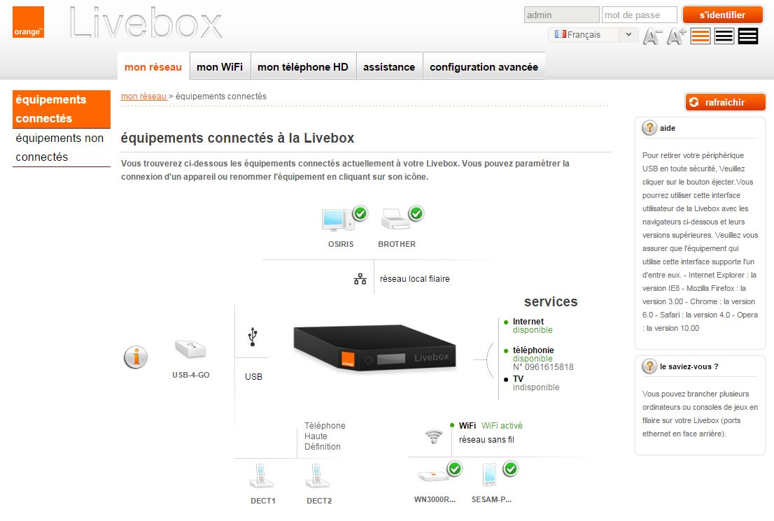 [DOSSIER] Livebox Play  Accueil-livebox