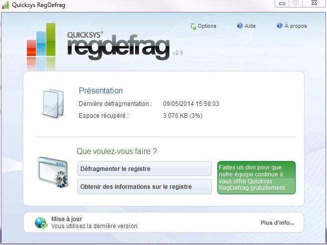 [DOSSIER]Protocole de nettoyage des indésirables (Spywares, Malwares, publicités intempestives...) Defrag-registre