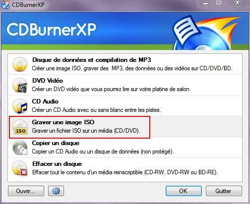 Installer W10 à partir d'un DVD ou d'une clé USB Cd-burner-1
