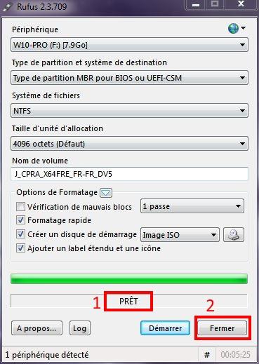 Installer W10 à partir d'un DVD ou d'une clé USB Rufus-8