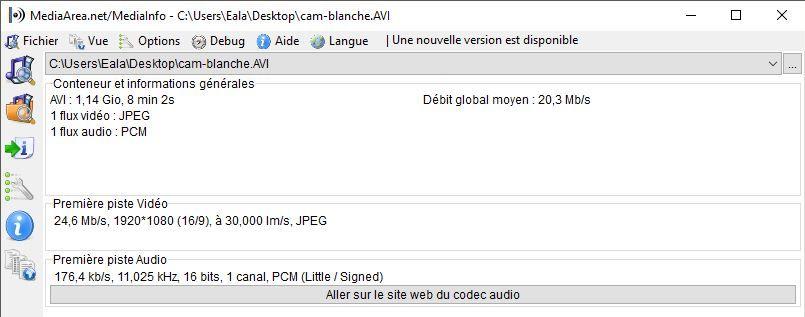 Comparatifs vidéos Full HD Caracs-cam-blanche-mi
