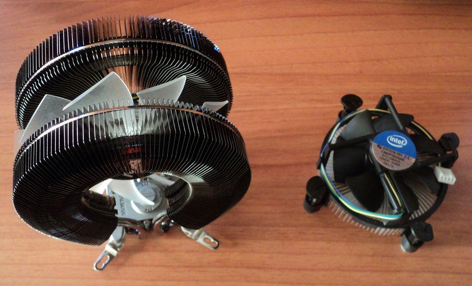 [DOSSIER] Ventilation et refroidissement Zalman-vs-intel