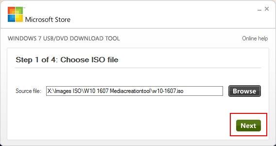 WINDOWS 10 1709 (installer, télécharger l'ISO et créer une clé ou DVD) Usb-dvd-2