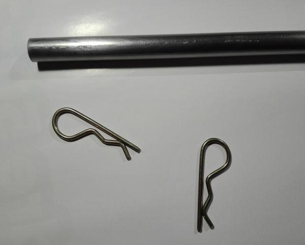 4 - Axe de roulement amélioré et allégé Tube-acier-goupille