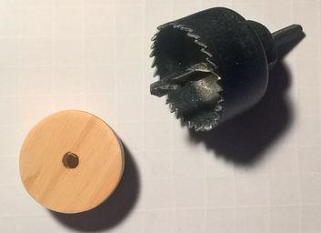 2 - Tuto : fabrication chariot en PVC [TUTO ABANDONNE] Scie-cloche