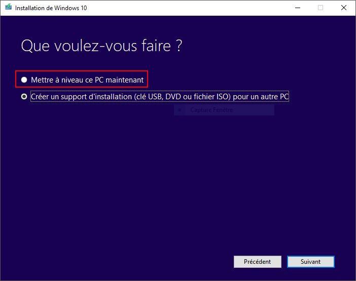 WINDOWS 10 1709 (installer, télécharger l'ISO et créer une clé ou DVD) Creator-1