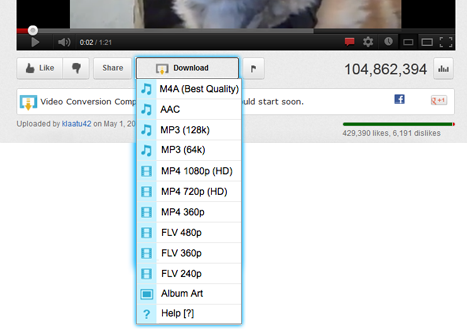 Extensions pour Chrome Best%20Video%20Downloader