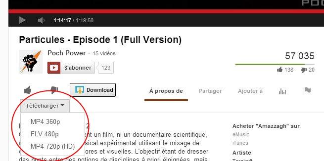 Extensions pour Chrome Dl-youtube2