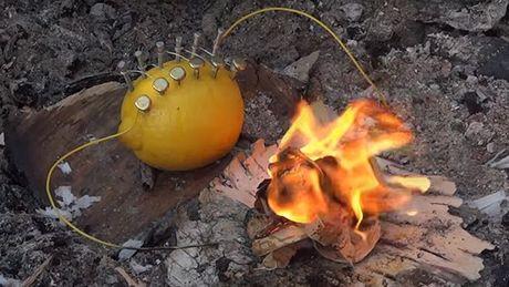 Allumer un feu Feu-citron